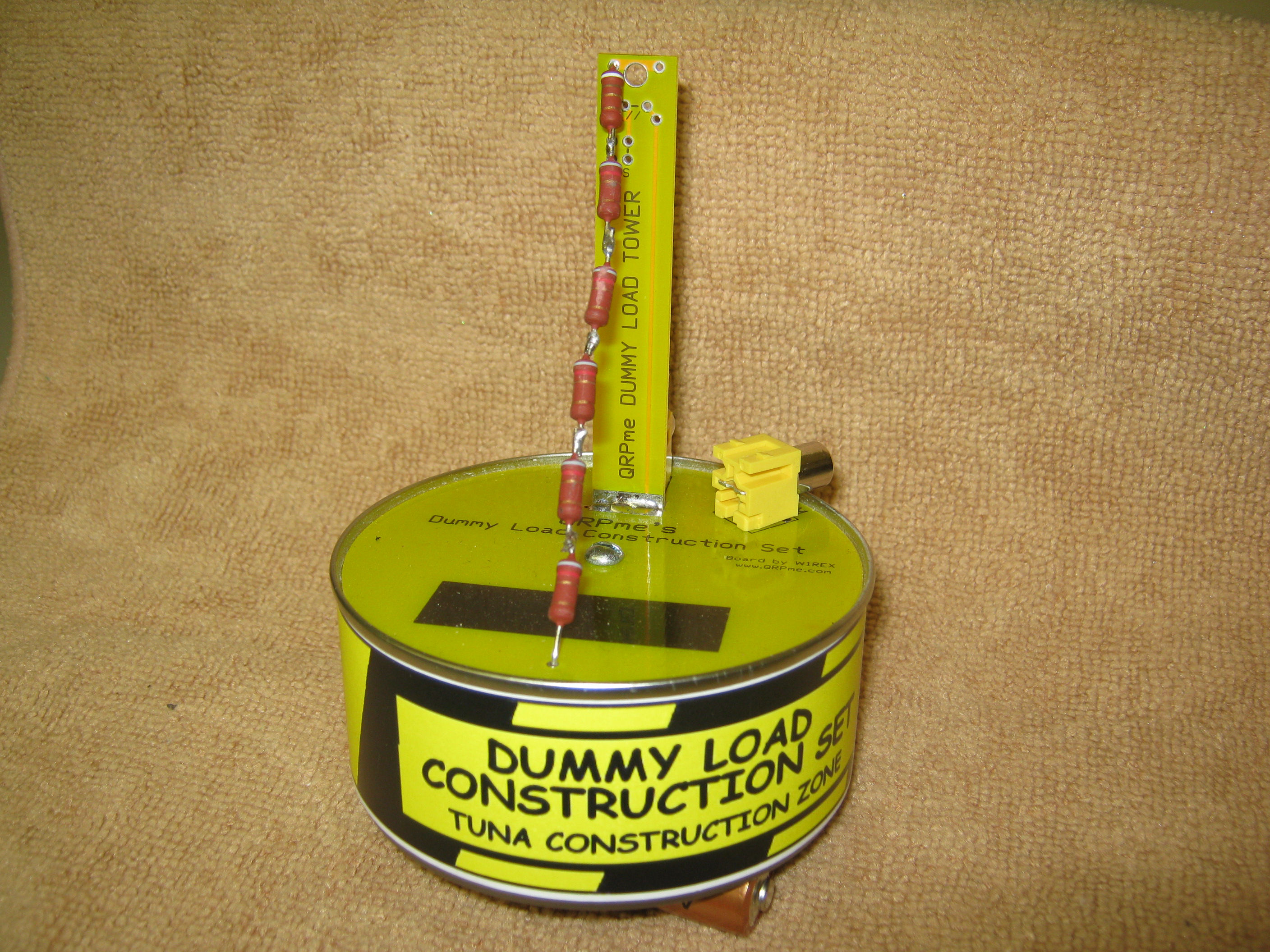Picture of Dummy Load Construction Set