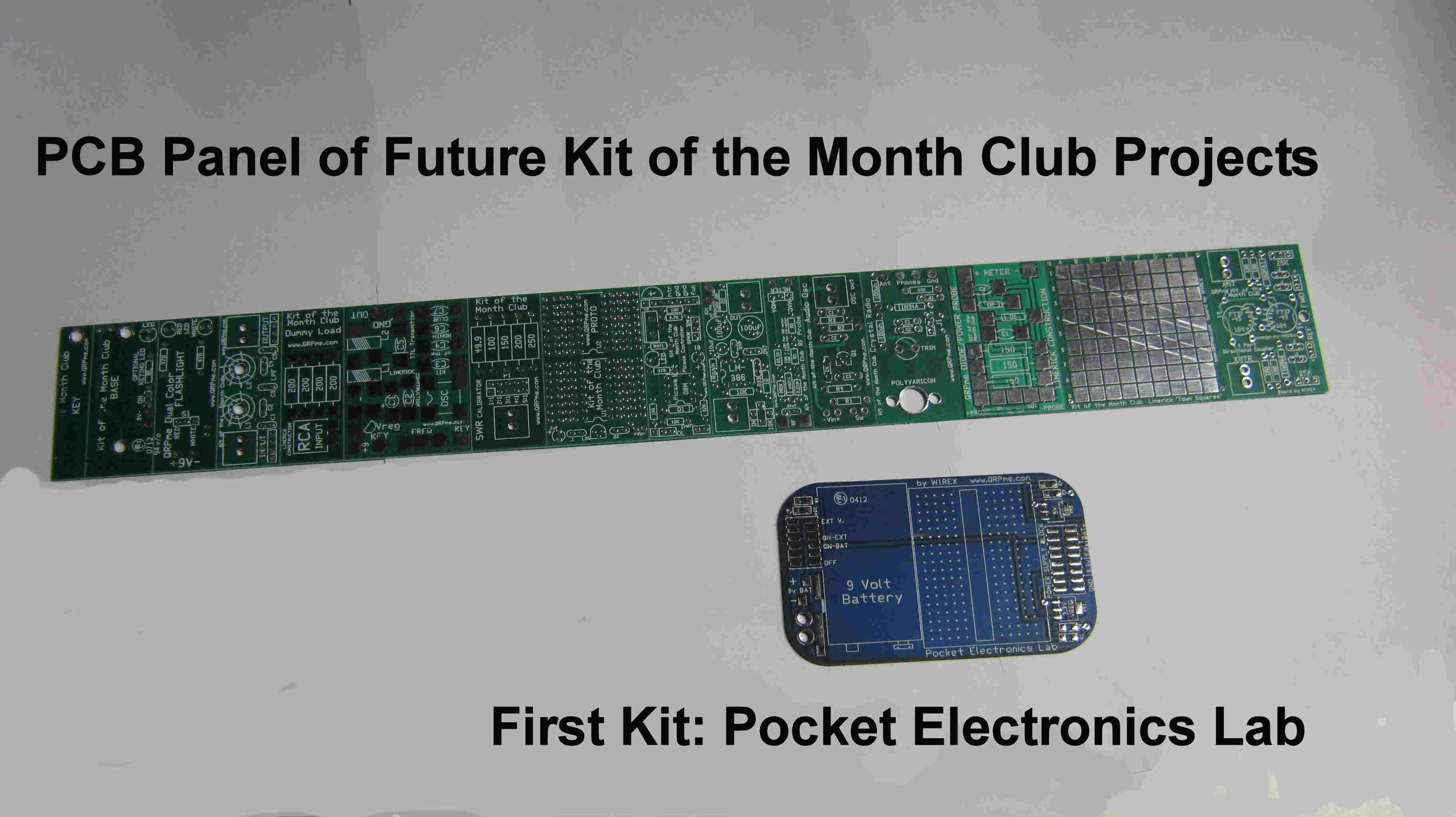 Picture of QRPme Kit of the Month Club - 6 Month Subscription