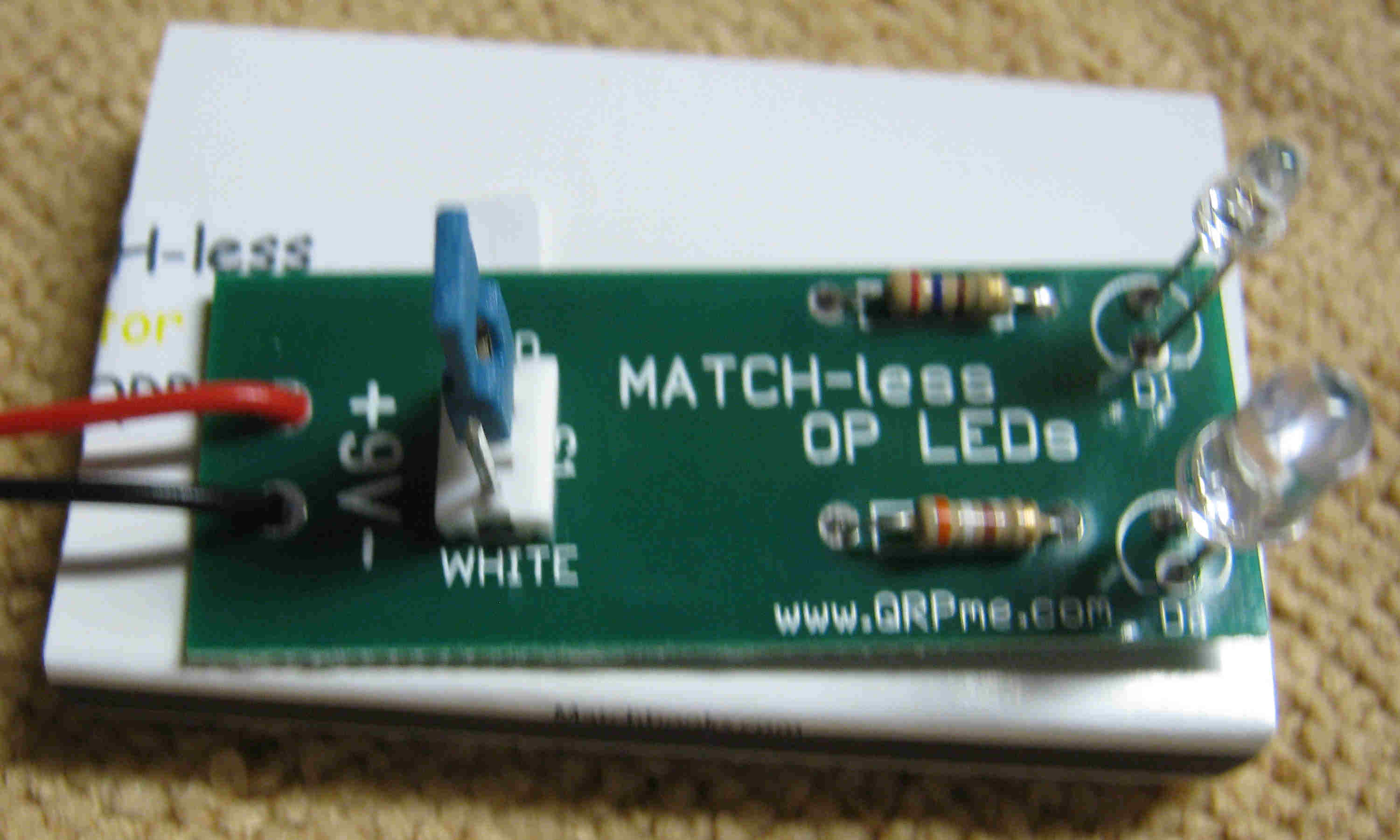 Picture of Match-less OP LEDs