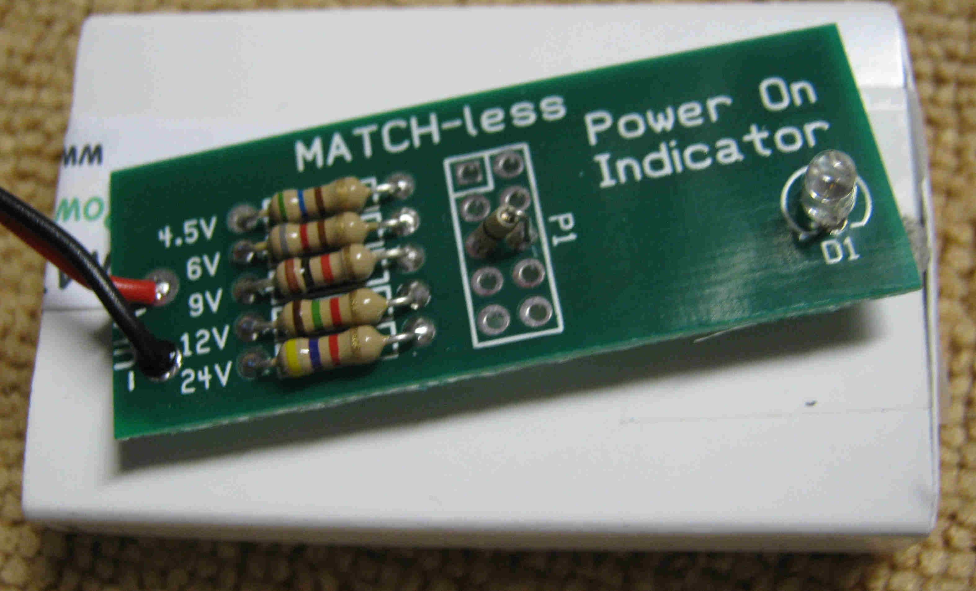 Picture of Match-less PowerON LED
