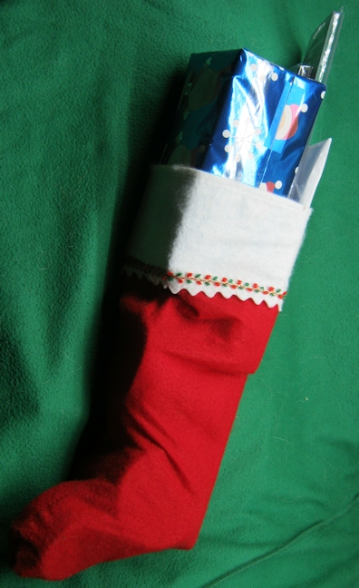 Picture of QRPme Christmas Stocking...QRPp